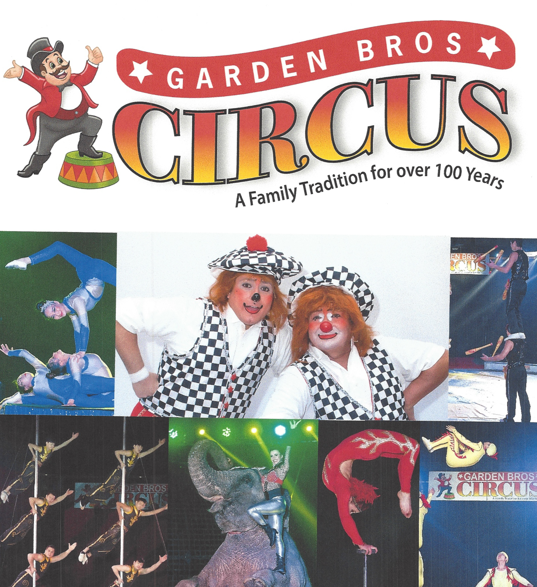Spartanburg Memorial Auditorium Garden Brothers Circus